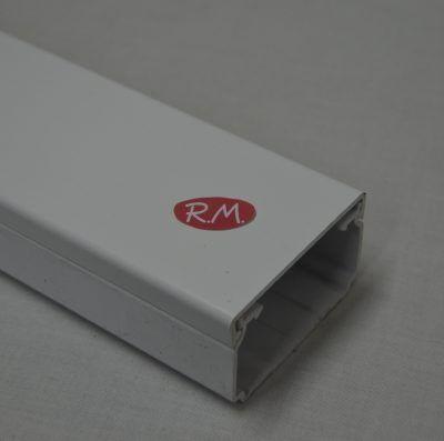 70x40mm Canaleta blanca con tapa