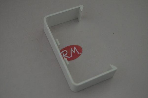 Manguito unión canaleta con tapa AEMSA 70 x 40 mm