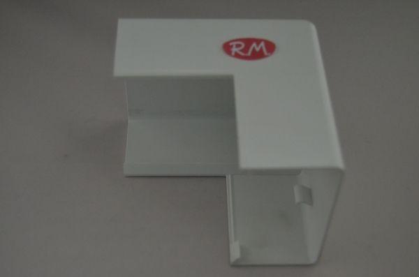 Angulo exterior canaleta con tapa AEMSA 70 x 40 mm