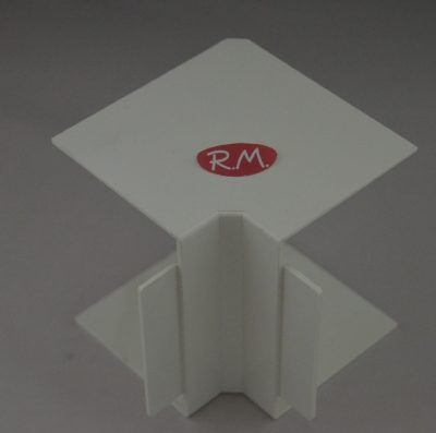 Angulo interior canaleta con tapa Escconduct 80 x 60 mm