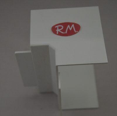 Angulo interior canaleta con tapa Escconduct 80 x 40 mm