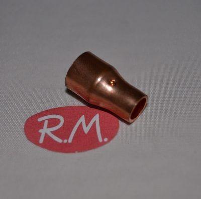 """Reducción cobre aire acondicionado hembra 3/8"""" - 1/4"""" para soldar"""