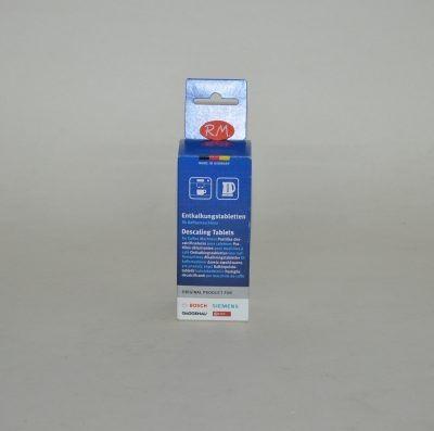 Pastillas descalcificadoras para cafeteras y hervidores eléctricos 6 unidades