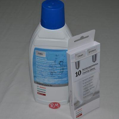 Kit de limpieza y descalcificación de cafeteras eléctricas 311813