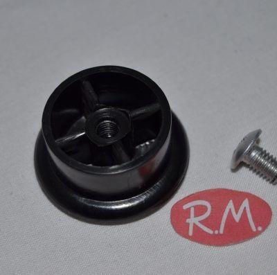 Pomo tapa sartén aluminio 39mm con tornillo