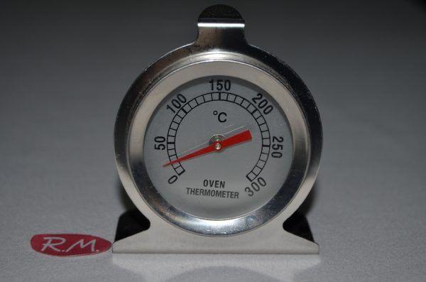 Termómetro para interior horno de 0° a 300°