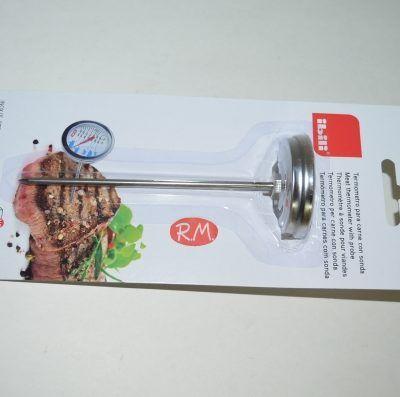 Termómetro para pinchar en carne de 0° a 250° Ibili
