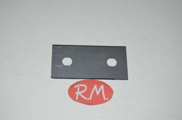 Cuchilla de recambio para rasqueta tipo better 43 x 22 mm
