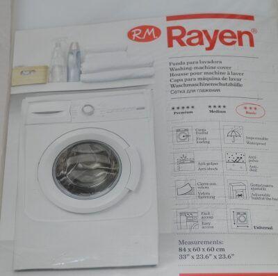 Funda para lavadora o secadora carga frontal Rayen