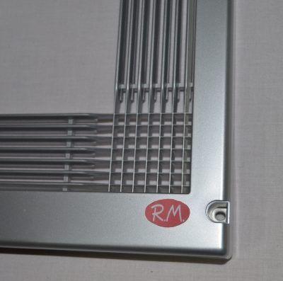 Marco para microondas universal 60x40cm Inoxidable