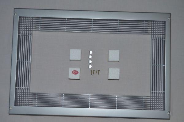 Marco para microondas universal 60 x 40 cm Inox