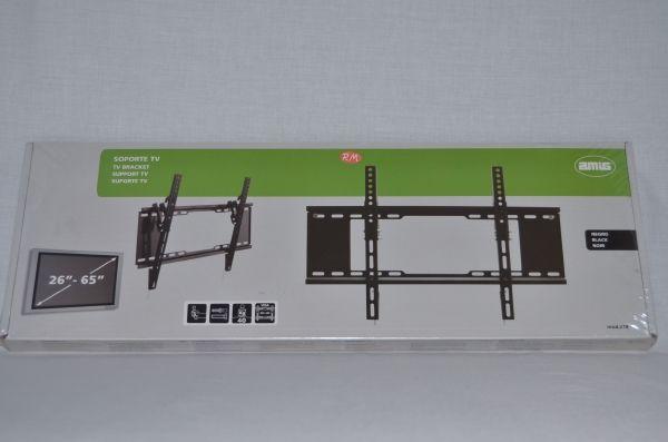 """Soporte inclinable televisión LCD negro 26 a 65"""""""