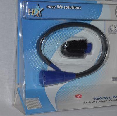 Cepillo aspirador flexible universal para radiador