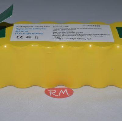 Batería Roomba 14,4v 3000 mAh series 500 - 600 y 700