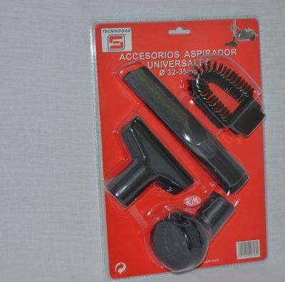 Kit accesorios universales para aspirador de polvo Ø32-35mm