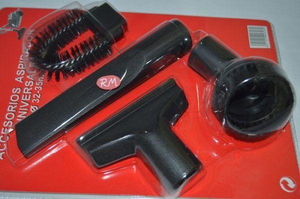 Kit accesorios aspirador con acoples a Ø32-35mm
