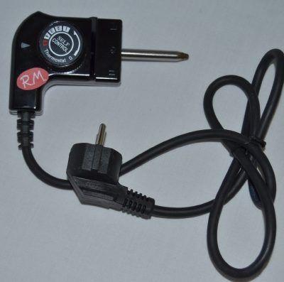 Conexión con termostato estándar grill eléctrico
