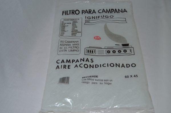 Filtro espuma campana extractora 600 x 450 mm