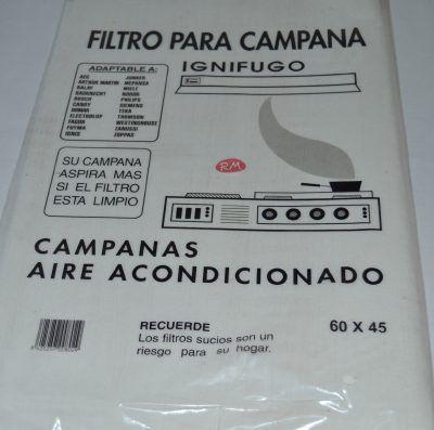 Filtro papel campana extractora 600 x 450 mm