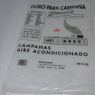 Filtro espuma campana extractora 900 x 450 mm