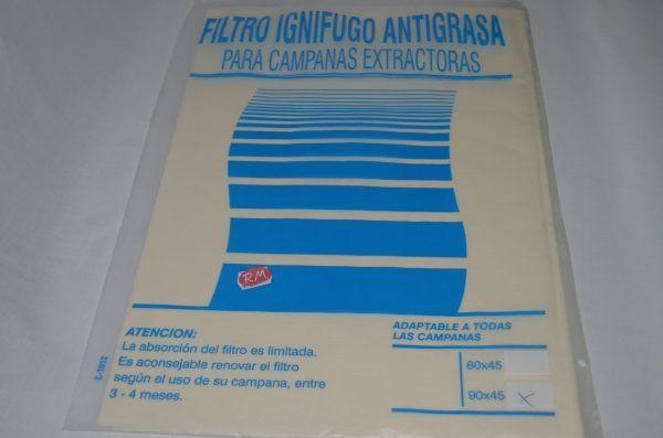 Filtro papel campana extractora 900 x 450 mm