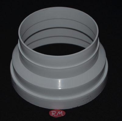 Reducción tubo PVC Ø150 a Ø120 campana Teka 81476017