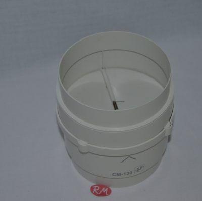 Válvula antirretorno aire campana Ø130 mm