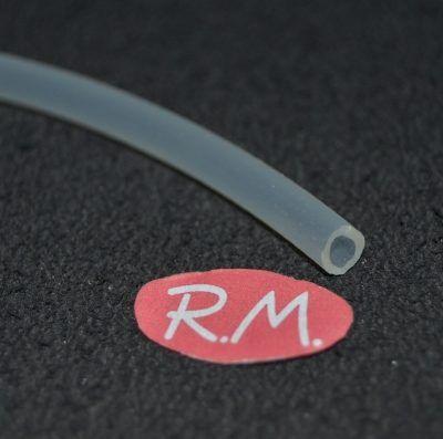 Tubo silicona 4 x 6 mm