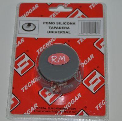 Pomo silicona para tapa de cristal Ø47 mm