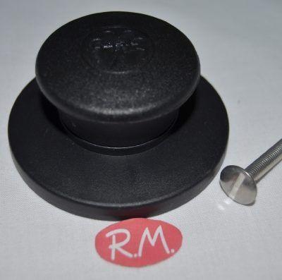 Pomo para tapa de cacerola con rosca M-5