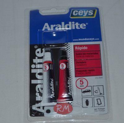 Ceys Araldite 2 componentes rápido 15 ml 510207