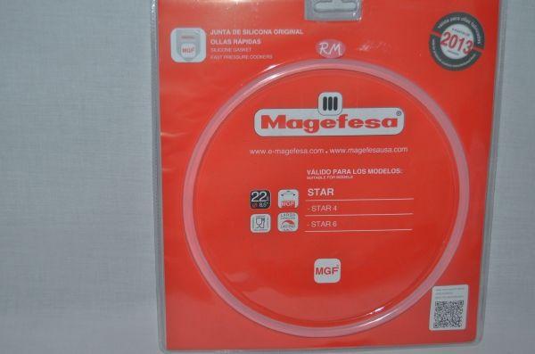 Goma tapa olla a presión Magefesa STAR 4 y 6 litros a partir 2013