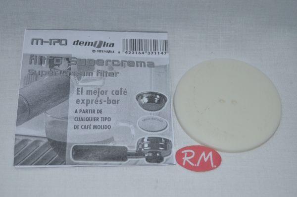 Filtro super crema cafetera Mini moka AAU037022