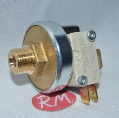 Presostato vapor 1/4 rosca gas 4 bars de presión