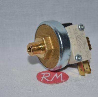 Presostato vapor 1/8 rosca gas 4 bars de presión