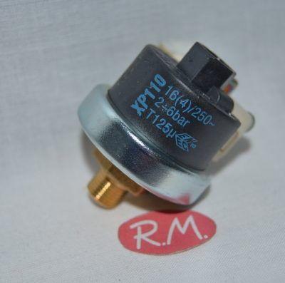 Presostato plancha vapor 1/8 rosca gas 4 bars de presión