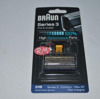 Lámina y cuchilla afeitadora Braun 31B ó 31S 81387938
