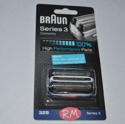Lámina y cuchilla afeitadora Braun 32S ó 32B 81483728