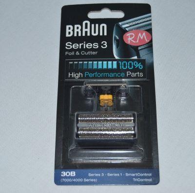 Lámina y cuchilla afeitadora Braun 30B 81387936