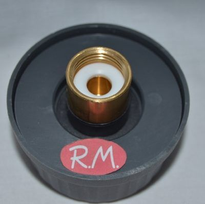 "Tapón vapor centro planchado Polti Ø 70 mm rosca hembra 1/2"""