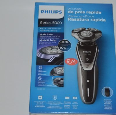 Philips afeitadora S5320 - 06 serie 5000 turbo recargable
