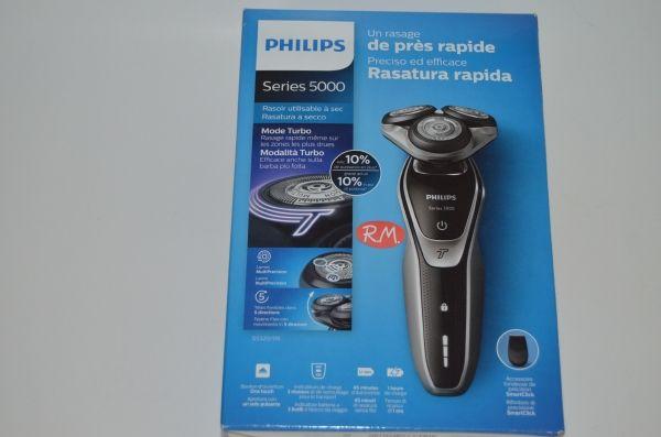 Philips afeitadora S5320 - 06 serie 5000 turbo recargable d8d36719a288