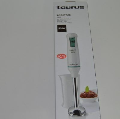 Taurus batidora de brazo robot 500w inox