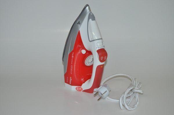 Ufesa plancha vapor PV1000 roja de 2200w