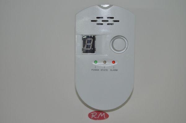 Detector de gas eléctrico 220 V 10 W
