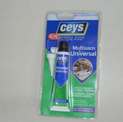 Ceys silicona ácida antimoho blanca 50ml 505502