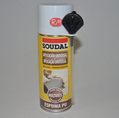 Espuma de poliuretano Soudal 300 ml