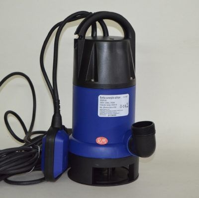 Bomba sumergible achique aguas sucias 750W