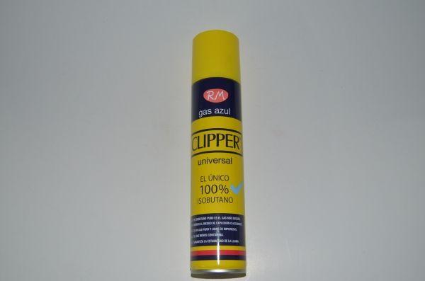 Carga gas encendedor clipper 300ml gas azul