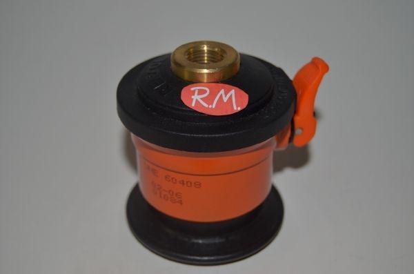 Adaptador botella Repsol a aparatos de bombona azul